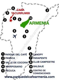 bbicacion Casa Tacurrumbi